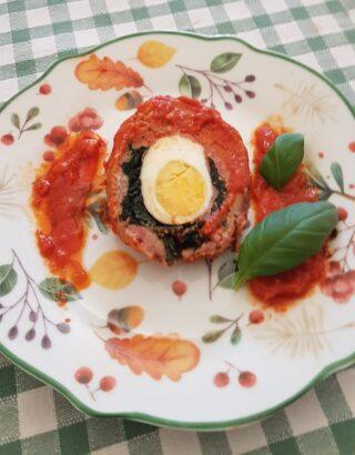 Polpettone al sugo alla siciliana
